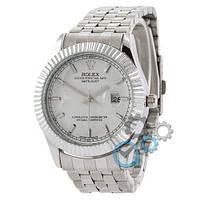 Rolex Date Just Silver-White