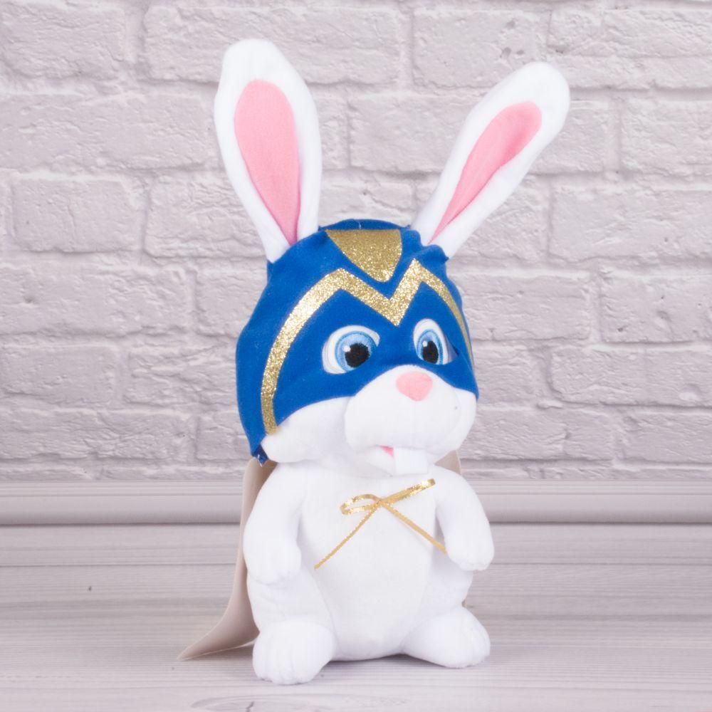 Мягкая игрушка  белый кролик Снежок с м/ф Тайная жизнь домашних животных