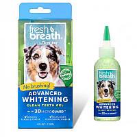 TropiClean Тропиклин Fresh Breath Advanced Whitening Gel гель для снятия налета и отбеливания зубов 118мл