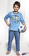 Детская пижама для мальчика CORNETTE Польша FAST голубой
