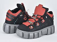Кроссовки женские Violeta 20-733 black-red (36-41) - купить оптом на 7км в одессе