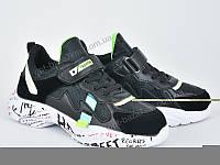 Кроссовки детские Violeta 200-71 black-green (31-36) - купить оптом на 7км в одессе