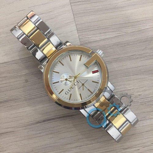 Gucci 6844D Silver-Gold-Silver