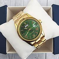 Rolex Day-Date Gold-Green Roman