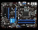 """Материнская плата MSI B75A-G41 DDR3  Socket 1155 """"Over-Stock"""" Б/У, фото 3"""