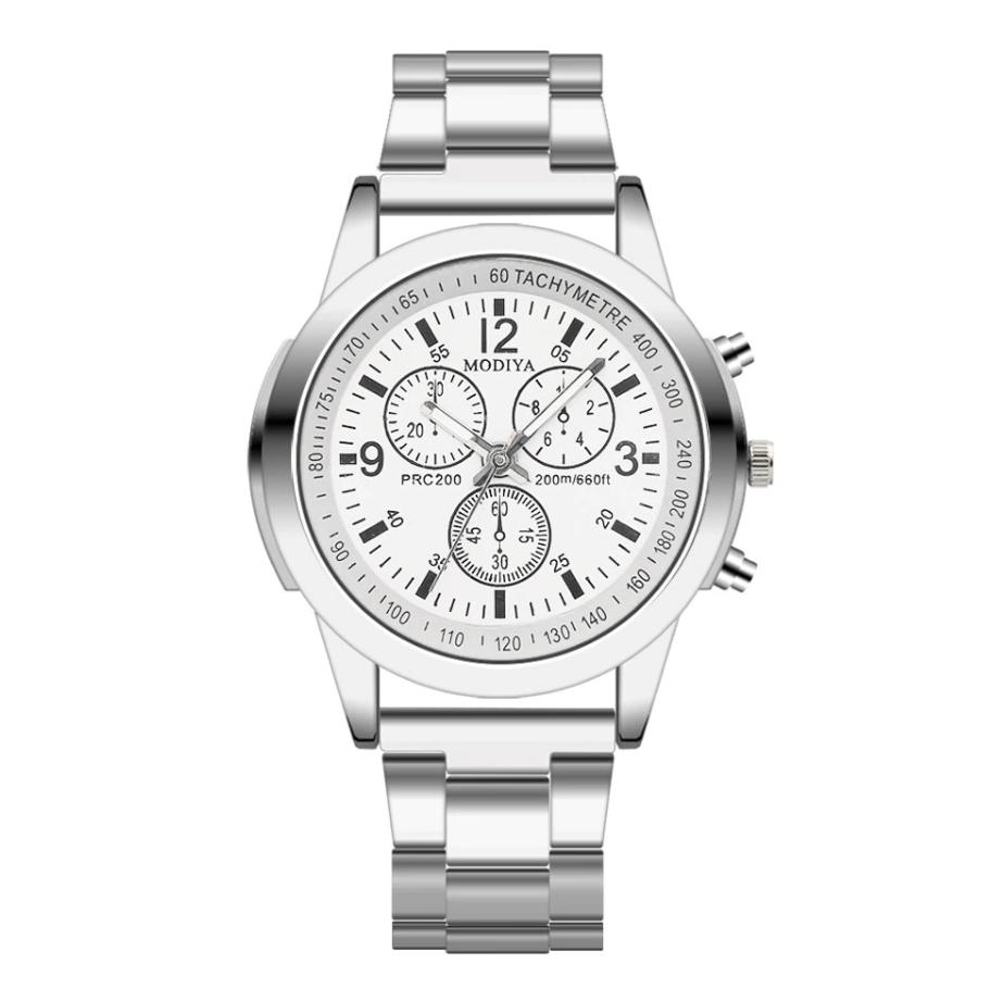 Часы наручные мужские MODIYA серебро
