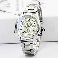Часы наручные мужские MODIYA серебро, фото 2