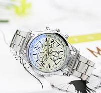 Часы наручные мужские MODIYA серебро, фото 3