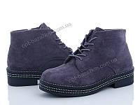 Ботинки женские Mei De Li 33-16 grey (36-40) - купить оптом на 7км в одессе