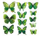 Объемные бабочки на стену для декора, фото 2