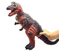 Фигурка резиновая Тираннозавр, большая