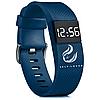 Синие мужские браслет-часы