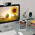 Защитная шторка (наклейка) для веб-камеры - Черная, фото 2