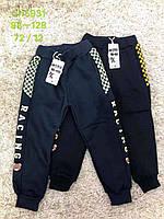 Спортивні штани з начосом для хлопчиків S&D 98-128 р. р.