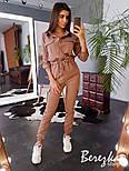 Женский стильный комбинезон брючный с накладными карманами (в расцветках), фото 5