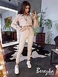 Женский стильный комбинезон брючный с накладными карманами (в расцветках), фото 9