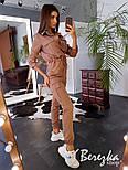 Женский стильный комбинезон брючный с накладными карманами (в расцветках), фото 7