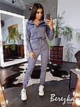 Женский стильный комбинезон брючный с накладными карманами (в расцветках), фото 8