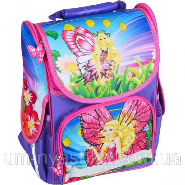 Якісний шкільний рюкзак коробка ортопедичний SMILE