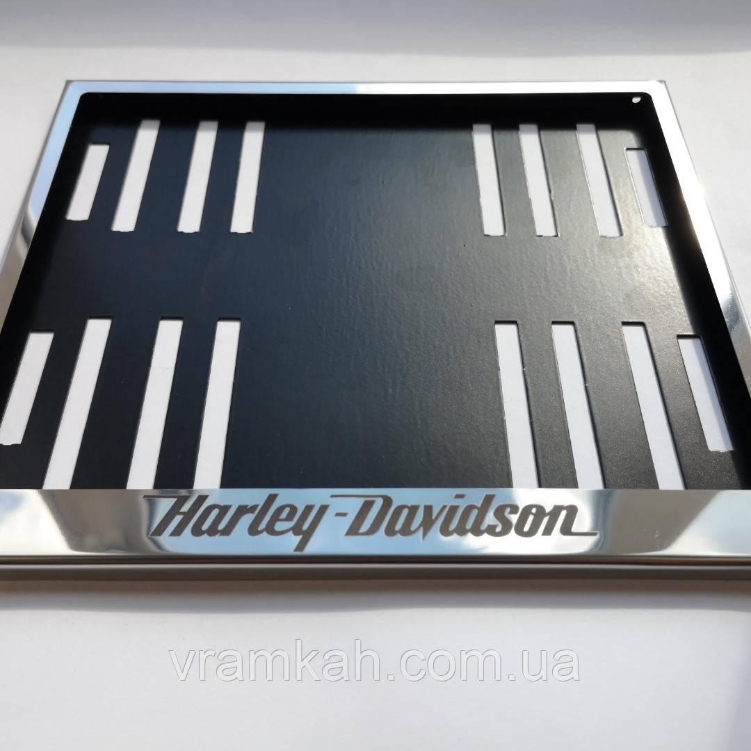 "Рамка для мотономера ""Harley-Davidson"""