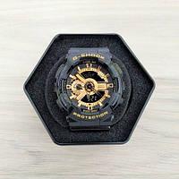 Casio G-Shock GA-110 Black-Gold New, фото 1