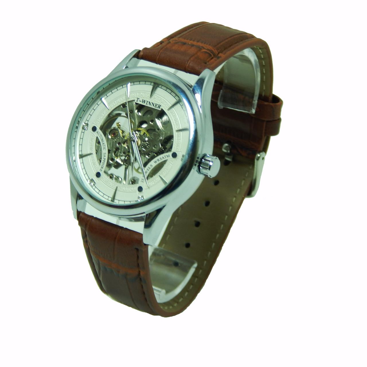 Часы наручные мужские  T-WINNER механика