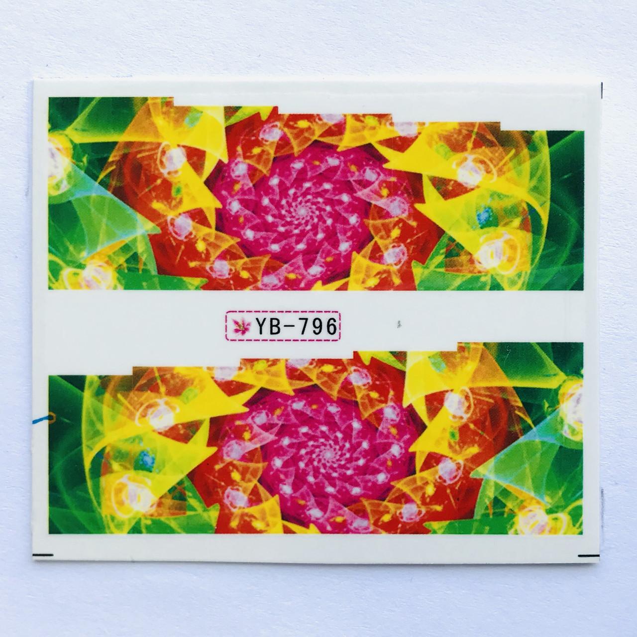 Слайдер абстракция YB 796