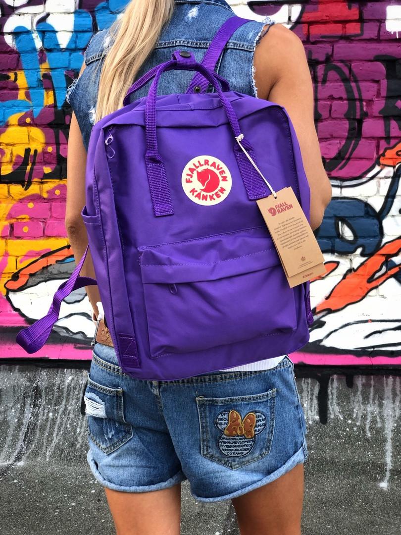 Жіночий спортивний рюкзак Kanken (синій)