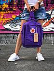 Жіночий спортивний рюкзак Kanken (синій), фото 4