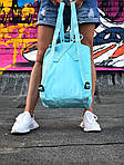 Жіночий спортивний рюкзак Kanken (бірюзовий), фото 2