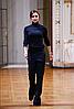 Жіночі туфлі Sala (Польща) чорного кольору. Красиві та комфортні. Стиль: Вікторія Бекхем, фото 7