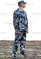 """Камуфляж охрана город. расцветка: """"Белая ночь"""", фото 1"""