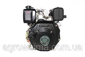 Двигатель дизельный (под шлицы)Grunwelt 178 FE