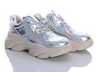 Кроссовки женские Ailaifa A8-9 silver (36-41) - купить оптом на 7км в одессе