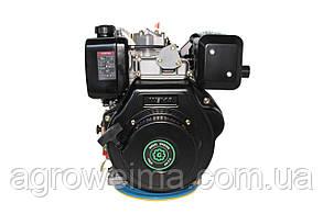Двигатель дизельный (под шпонку)Grunwelt 186 FB-F2