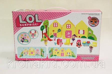 Дом для кукол с куклами LOL / Домик Лол / Игрушечный домик для кукол Лол SC-810, фото 2