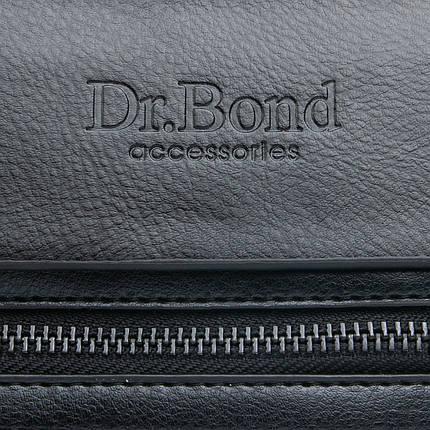 Сумка Чоловіча Планшет позов-шкіра DR. BOND GL 317-2 black, фото 2