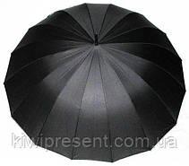Большой мужской зонт трость Президентский (16 спиц), фото 2