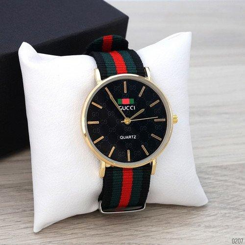 Gucci Gold-Black Green-Red