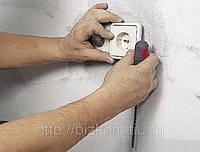 Монтаж несущих систем для прокладки наружных и внутренних электрических сетей