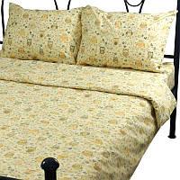 Комплект постельного белья РУНО бязь полуторный 143х215 (1.114Г_10-0423 Beige)