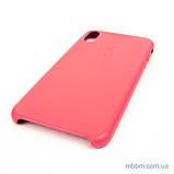 "Накладка Apple Leather iPhone Xs Max {6.5 ""} peony pink [копія], фото 2"