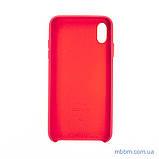 "Накладка Apple Leather iPhone Xs Max {6.5 ""} peony pink [копія], фото 5"
