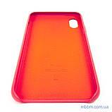 "Накладка Apple Leather iPhone Xs Max {6.5 ""} peony pink [копія], фото 7"