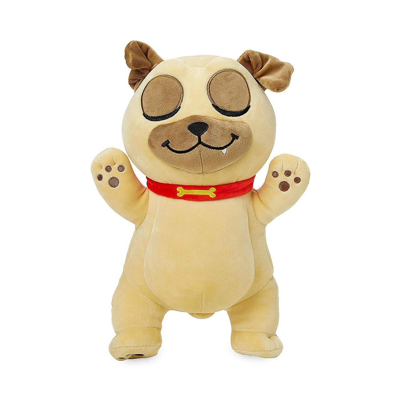 Disney Мягкая игрушка собака Ролли Обнимашка - Дружные мопсы, 33см