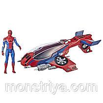 Самолет Человека-паука с фигуркой/ Spider-Man ,Hasbro