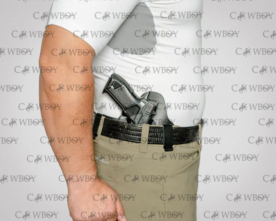 A-line кобура внутрибрючная ПК8 для ПМ ( пластик/кожа)