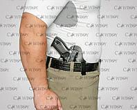 A-line кобура внутрибрючная ПК8 для ПМ ( пластик/кожа), фото 1