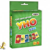 Игра Уно zoo, в кор.13,592,5см, произ-во, Украина, ТМ Стратег (66шт)
