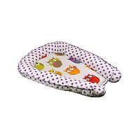 Подушка РУНО кокон для новорожденного 65х65 (910Зірка)